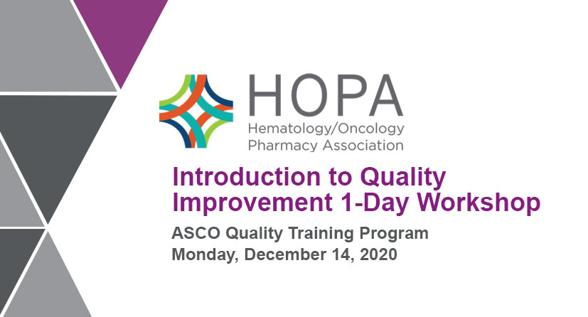 Introduction to Quality Improvement 1-Day Workshop