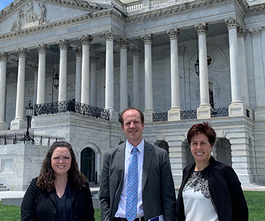HOPA Advocacy Activities image of members in DC