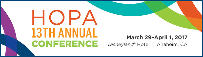 HOPA 13th Annual Conference banner