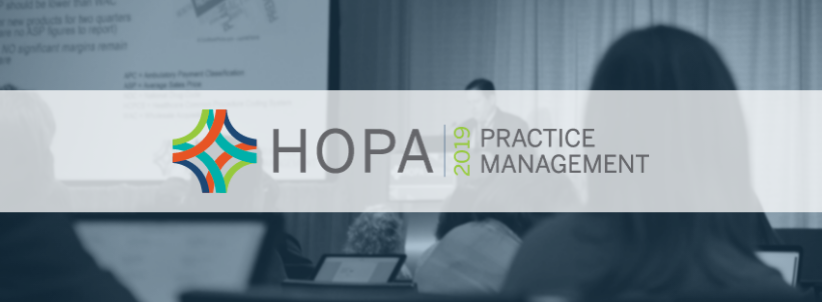 HOPA Practice Management Course 2019